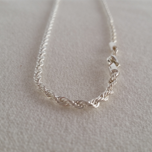 Large Silver Twits Chain