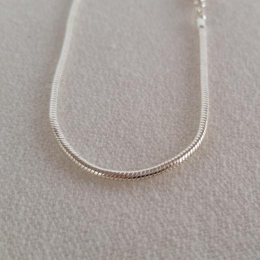 Round Silver Chain