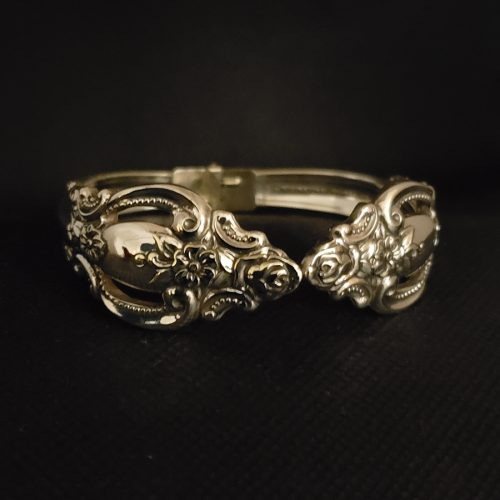 Silverware Clasp Bracelet