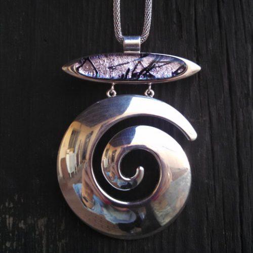Silver Swirl